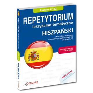 Hiszpański Repetytorium leksykalno-tematyczne A2-B2 (Książka + Audio CD)