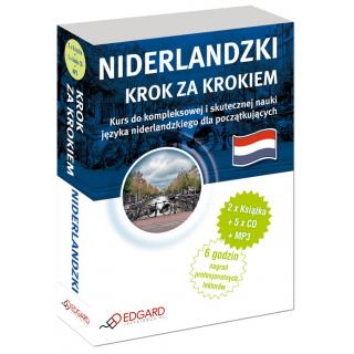 Niderlandzki Krok za krokiem (2 x Książka + 5 x CD Audio + MP3)