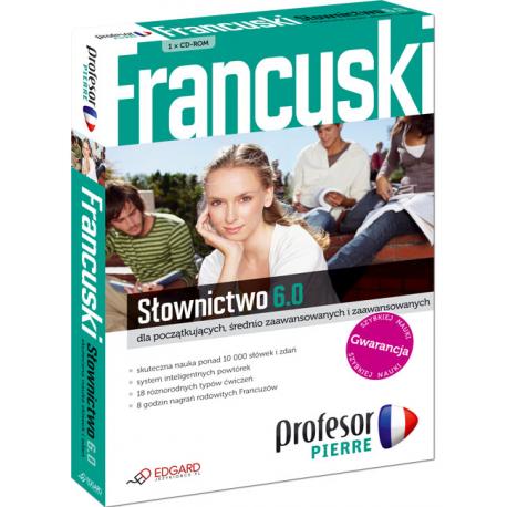 Profesor Pierre 6.0 Słownictwo (1 x CD-ROM)