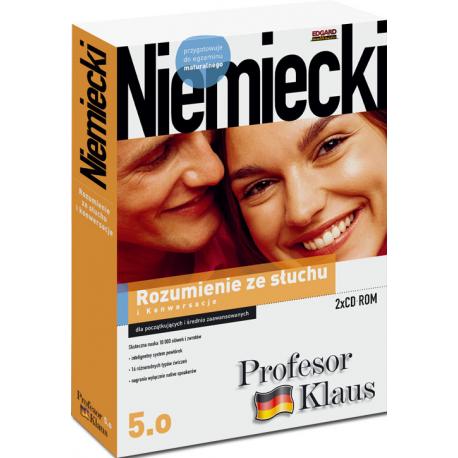 Profesor Klaus 5.0 Rozumienie ze słuchu i Konwersacje  (2 x CD ROM)