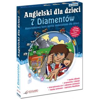 Angielski dla dzieci 7 diamentów wersja 3.0 (od...