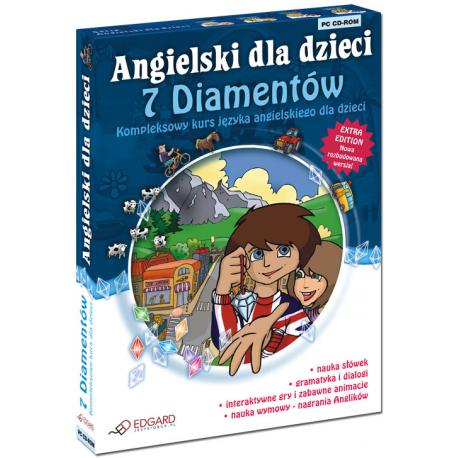 Angielski dla dzieci 7 diamentów wersja 3.0 (od 7 lat) (1 x CD-ROM)