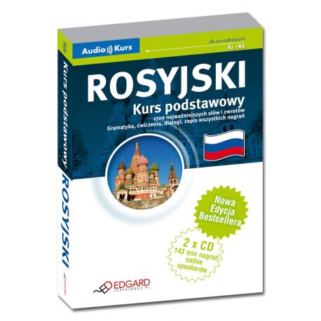 Rosyjski Kurs podstawowy - Nowa Edycja! (Książka + 2 CD Audio)