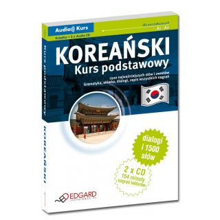 Koreański Kurs podstawowy (Książka + 2 x CD Audio)
