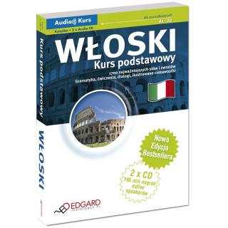 Włoski Kurs podstawowy - Nowa Edycja! (Książka + 2 x CD Audio)