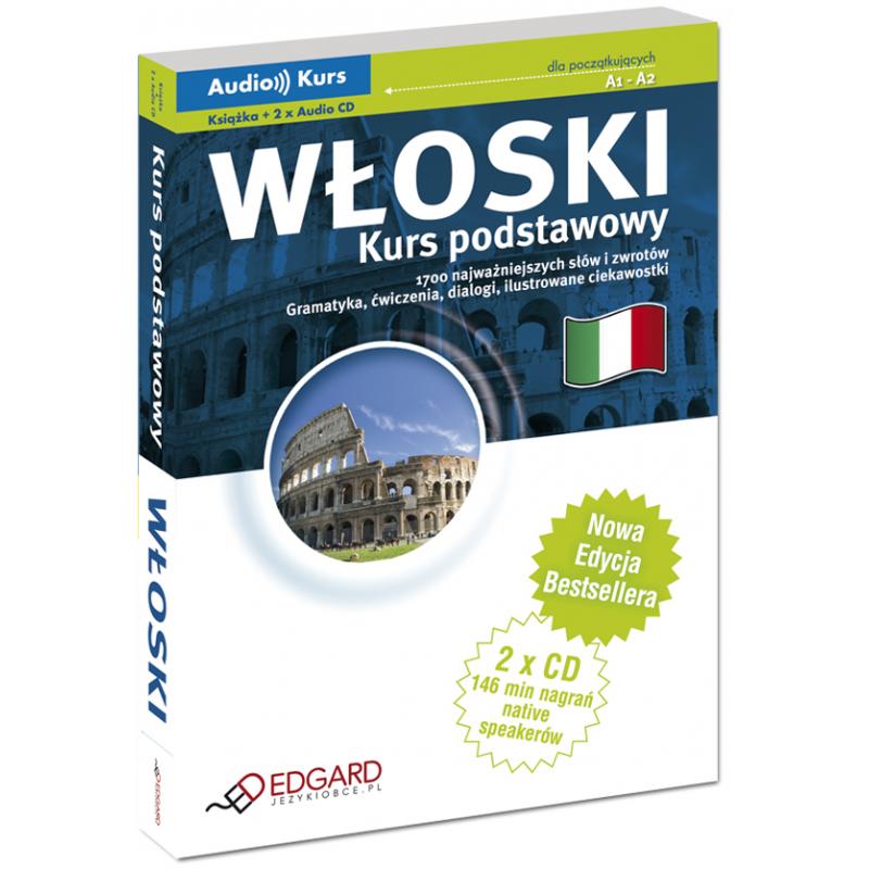 7924c3b0cabcc8 Włoski Kurs podstawowy - Nowa Edycja! (Książka + 2 x CD Audio)