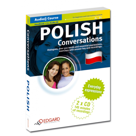Polski Konwersacje Polish Conversations (Książka + 2 x CD Audio)