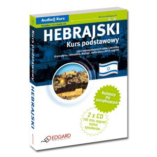 Hebrajski Kurs podstawowy (Książka + 2 x Audio CD)