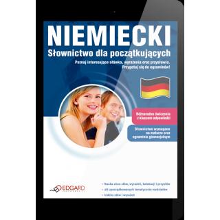 Niemiecki Słownictwo dla początkujących (E-book)