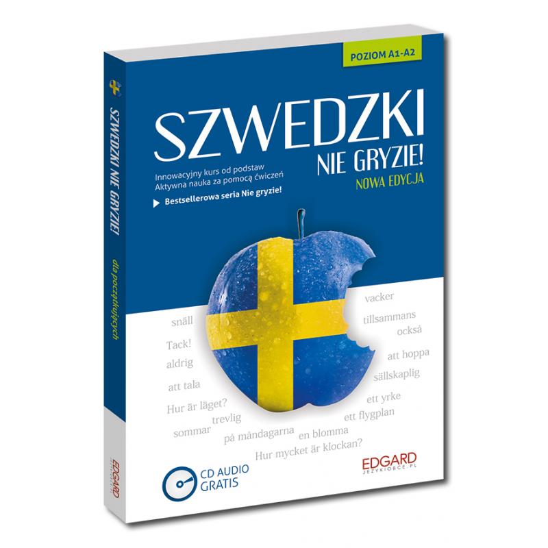 Szwedzki nie gryzie!  (Książka + CD Audio) NOWE WYDANIE