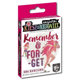 Kieszonkowiec angielski Remember Forget (9+)