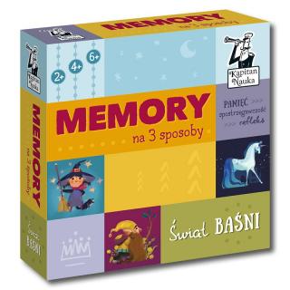 Memory na 3 sposoby Świat baśni