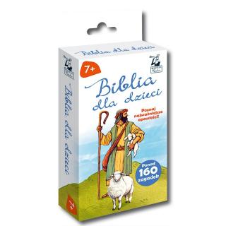 Biblia dla dzieci. Opowieści + zagadki