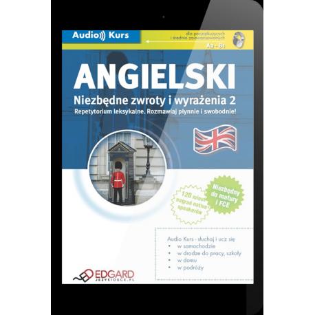 Angielski Niezbędne zwroty i wyrażenia 2 (E-book + mp3)