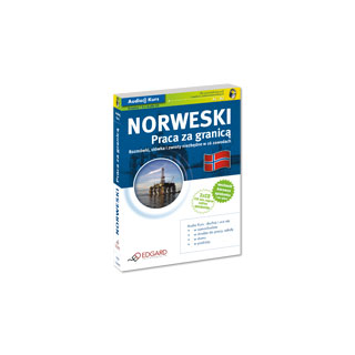 Norweski Praca za granicą (Książka + 3 x CD Audio)