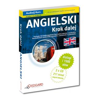 Angielski Krok dalej (Książka + 3 x Audio CD)