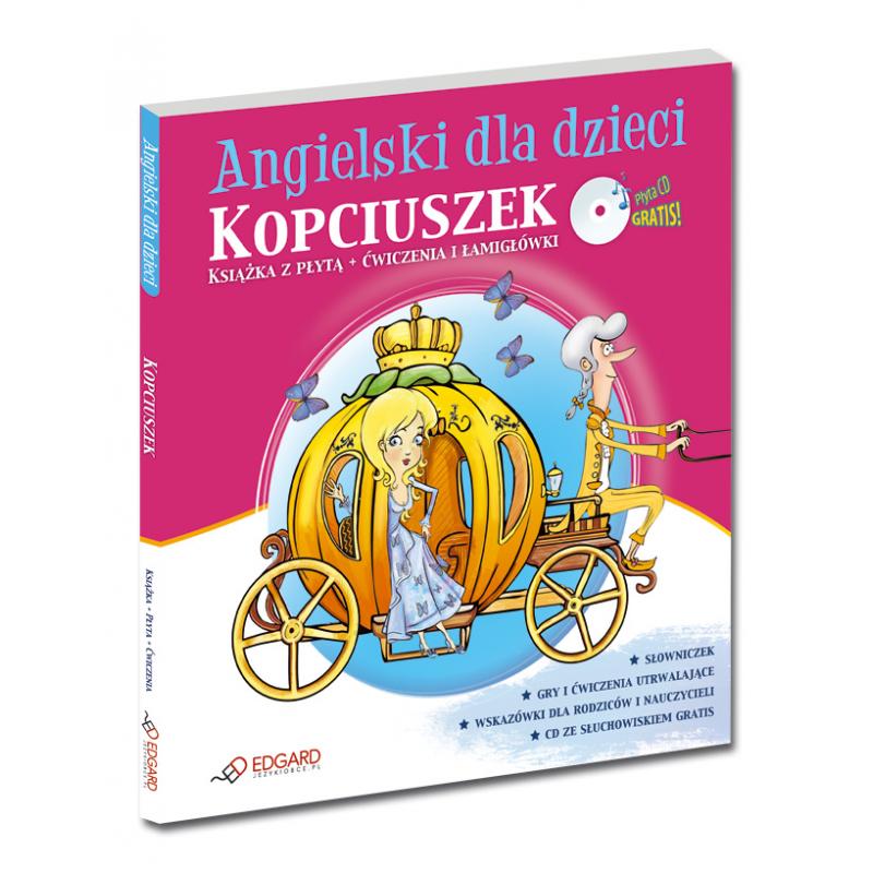 Angielski Dla Dzieci Kopciuszek Cinderella Od 6 Lat Książka