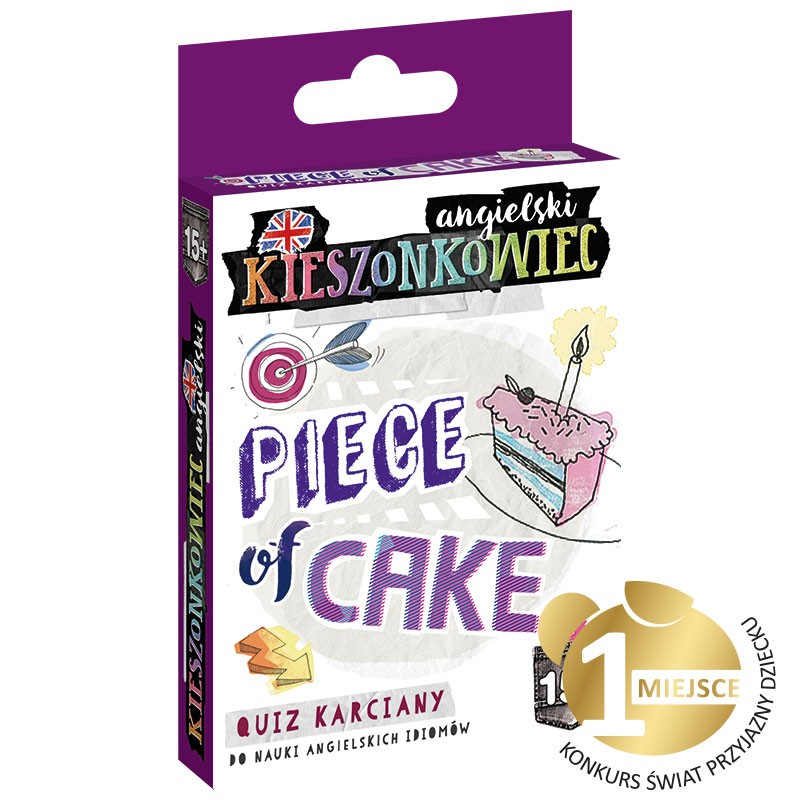 Kieszonkowiec angielski 15+ Piece of Cake