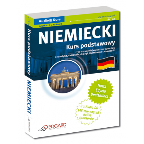 Niemiecki Kurs podstawowy - Nowa Edycja! (Książka + 2 x Audio CD)