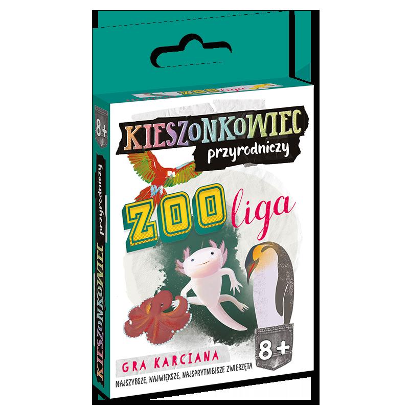 Kieszonkowiec przyrodniczy Zoo liga (8+)