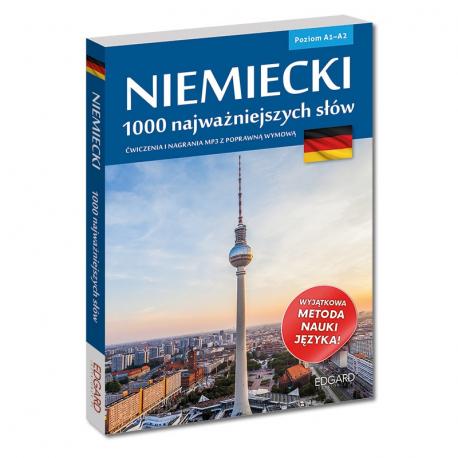 Niemiecki. 1000 najważniejszych słów (książka + nagrania mp3)