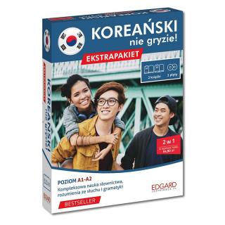 Koreański nie gryzie! Ekstrapakiet (2 książki + 2 płyty audio CD)