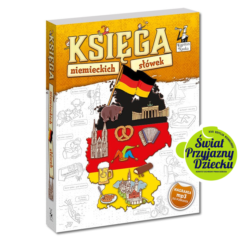Księga niemieckich słówek (7+)