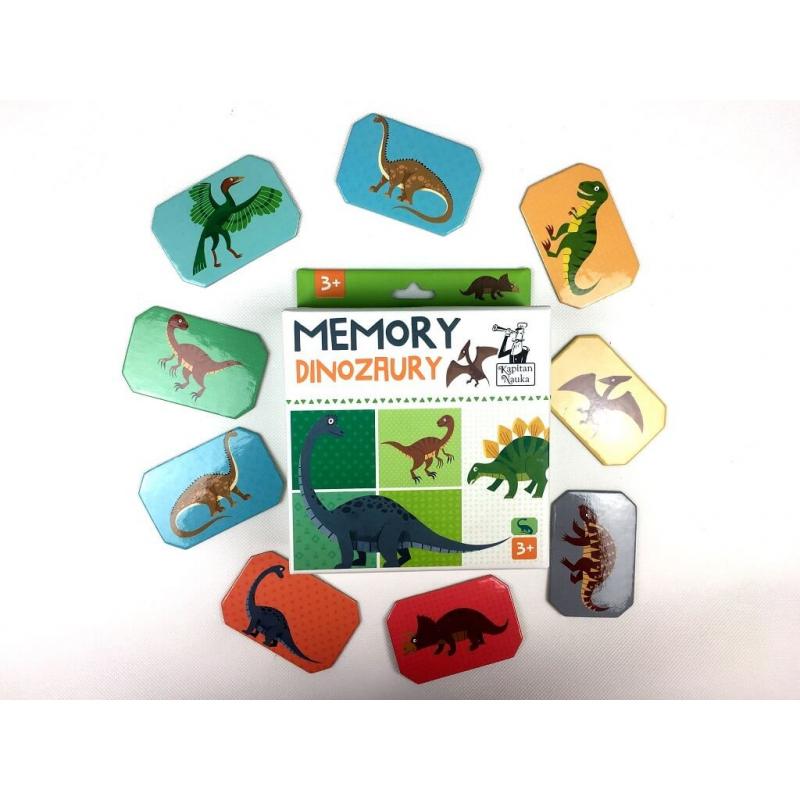 Memory Dinozaury 3+