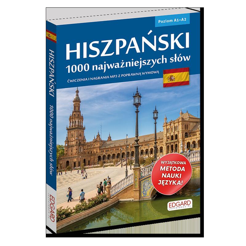 Hiszpański. 1000 najważniejszych słów (książka + nagrania mp3)