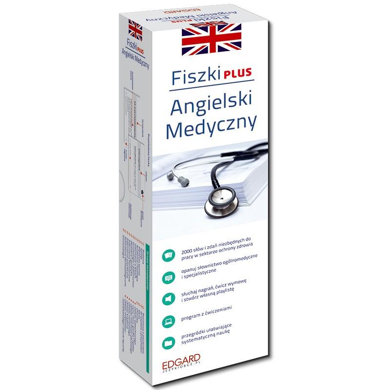 Angielski medyczny. Fiszki PLUS