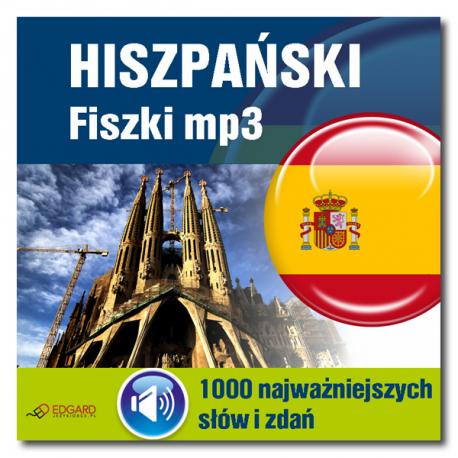 Hiszpański Fiszki mp3 1000 najważniejszych słów i zdań (Program + Nagrania do pobrania)