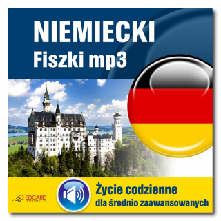 Niemiecki Fiszki mp3 Życie codzienne i 15 innych tematów  (Program + Nagrania do pobrania)