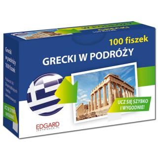 Grecki. 100 Fiszek. W podróży