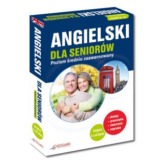 Angielski dla seniorów Poziom średnio zaawansowany (Książka + 2 x CD Audio)