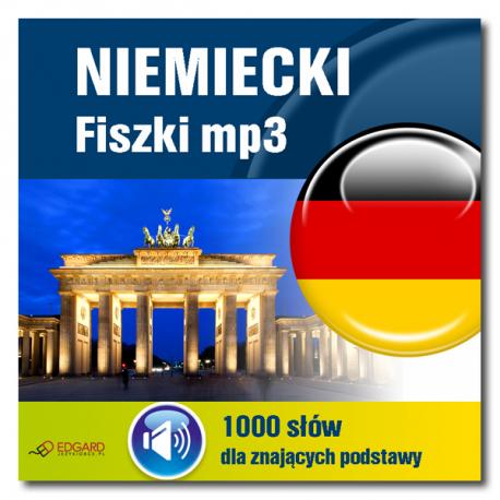 Niemiecki fiszki mp3 1000 słówek dla znających podstawy  (Program + Nagrania do pobrania)