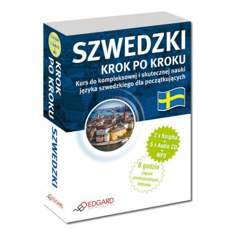 Szwedzki Krok po kroku (2 x Książka + 5 x Audio CD + MP3)