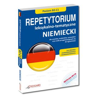 NIEMIECKI Repetytorium leksykalno-tematyczne (poziom B2-C1)  (Książka + CD MP3)