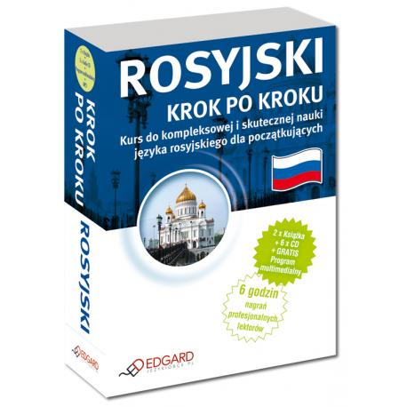 Rosyjski Krok po kroku (2 x Książka + 5 x Audio CD + MP3 + Program multimedialny)