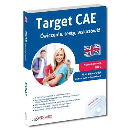 Target CAE Ćwiczenia, testy, wskazówki (Książka + CD Audio)