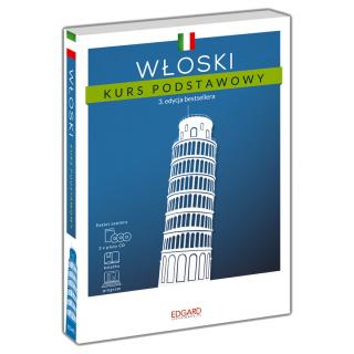 Włoski Kurs podstawowy. 3. edycja (Książka + 3 płyty CD + program)