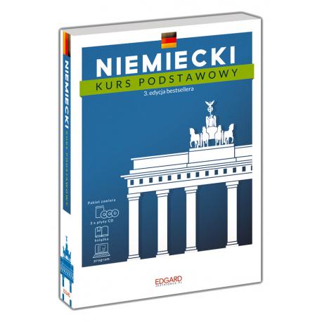 Niemiecki Kurs podstawowy. 3. edycja (książka + 3 płyty CD + program)
