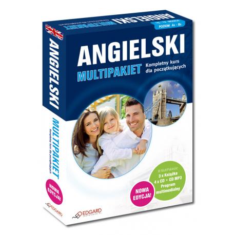 Angielski MultiPakiet NOWA EDYCJA (3 x Książka + 4 x CD Audio + MP3 + program multimedialny)