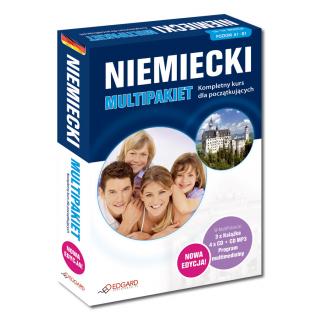 Niemiecki Multipakiet NOWA EDYCJA  (3 x Książka...