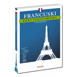 Francuski Kurs podstawowy. 3. edycja (książka + 3 płyty CD + program)