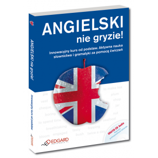 Angielski nie gryzie! + CD - Nowa Edycja  (Książka + CD Audio)