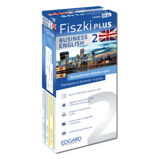 Angielski Fiszki PLUS Business English 2  (600...