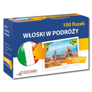 Włoski 100 fiszek W podróży (100 fiszek + program i nagrania)