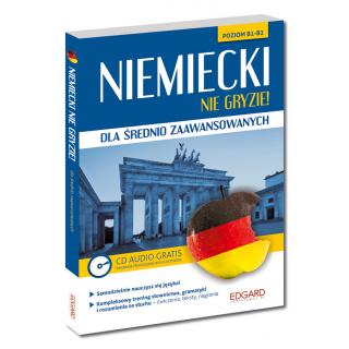 Niemiecki nie gryzie! dla średnio zaawansowanych (Książka + CD Audio)