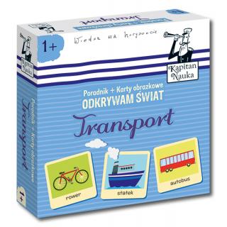 Kapitan Nauka Odkrywam świat Transport (Poradnik + karty obrazkowe)