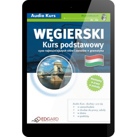 Węgierski Kurs podstawowy (E-book + nagrania mp3)